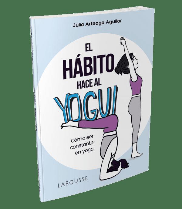 portada del libro El hábito hace al yogui